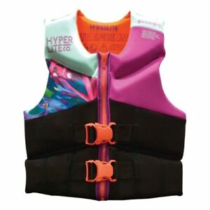 Hyperlite Girl's Youth Life Vest, USCG Approved Type III Fit Youth 50-90 lbs
