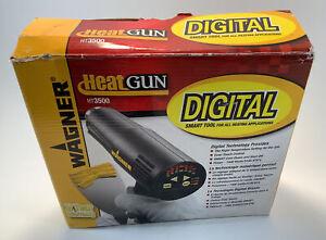 Wagner Digital Heat Gun Multiple Settings Tested Works HT3500 1500 Watts