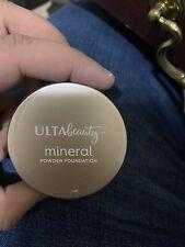 x1 Ulta Beauty Mineral Powder Foundation Fair Cool .35 oz Full Size Sealed New