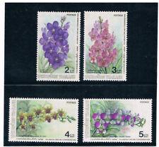 THAILAND 1986 Orchid Flowers (Flora)