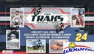2006 Press Pass Nascar TRAKS Racing HUGE Factory Sealed HOBBY Box-140 Cards!
