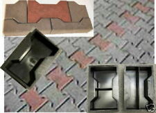 12 (10 +2) Gießformen für Knochenpflaster/ H-Steine 8 cm Stärke