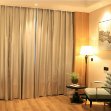 Window Blackout Curtain Linings Fabric Thermal Insulation Silver Ready Made Home