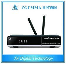 Latest ZGemma H9 Twin 4K Satellite TV BOX built-in 2*CI+ IPTV 2S 2xDVB-S
