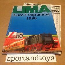 LIMA CATALOGO 1990 CON LISTINO PAGINE 147