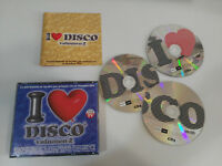 I LOVE DISCO VOLUMEN 2 - 3 X CD FAT BOX BLANCO Y NEGRO 1999 DESIRELESS BALTIMORA