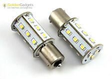 1156 1141 BA15S RV LED Light Bulb Replacement 230 Lumen 10-30V DC 3000K Warm 2PK