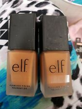 New elf Flawless Finish Foundation Chai tan with Peachy undertones 81381 Lot 2