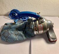 Vintage Royal Prince Portable Hand Held Vacuum Cleaner Model 501 Blue Tested