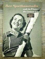 ZEISS IKON Katalog IHRE SPORTKAMERADIN von 1939 * Ikonta Contax Ikoflex (X6070