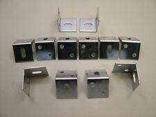 12 large right angle worktop brackets stretcher plate shrinkage bracket 25x25mm