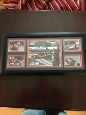 NASCAR Mounted Memories Juan Pablo Montoya Autographed Photo Race Used Tire