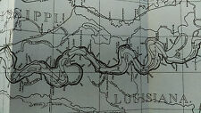 1902 Sketch Map of Mississippi River, Lower Yazoo Levee District