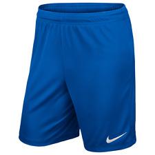 Nike Park II Knit Pantalón corto pantalones de Fútbol para hombre entrenamiento L azul