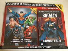 Le Grandi Storie Dei Supereroi N.1 - Batman e figlio (Eaglemoss Collection)