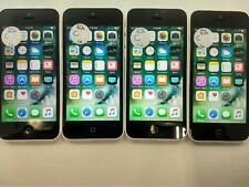 Lot of 4 Apple iPhone 5c A1532 Unlocked 8Gb Check Imei Fair Condition Ip-1494