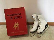 New listing Vintage Women's Hawthorne Canadian Ice Skates Size 9 Mont. Wards Gently Used