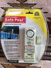 Techko Safe Pool Entry Safety & Security Alarm Model S087 Unopened Sun Faded