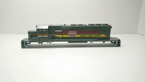 Athearn HO Train NEW Louisville & Nashville SD40-2 Diesel Locomotive Shell