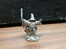 Small Pre Owned Rawcliffe Pewter Wizard Fantasy Magician magic