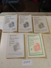 5 NATIONAL ASSOCIATION OF WATCH AND CLOCK COLLECTORS BULLETINS  1971