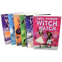 Witch Wars Series 6 Books Young Adult Collection Paperback By Sibeal Pounder