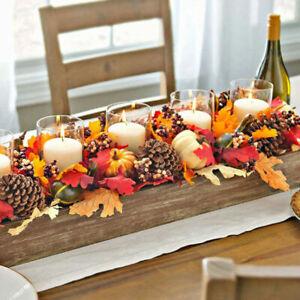 50PCS Artificial Foam Pumpkin Set Props Halloween Party Garden Decoration DIY