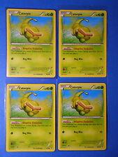 4x Caterpie 3/83 Pokemon TCG card XY Generations common NM