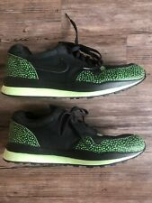 2008 Nike Air Safari Supreme 87 Atmos Green Black Tech Pack Stash Men's Size 13