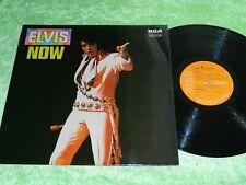 ELVIS PRESLEY : Elvis Now - Original 1972 UK issue LP NM 198