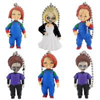6pcs Child's Play Chucky Bride of Chucky & Son Keychain