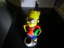 Bart Simpsom  Ceramic Tobacco Pipe. 5 screens   Contains No Glass   ( PM 3309)