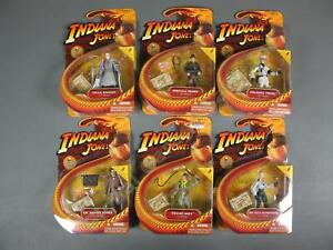 6 MOC 2008 Indiana Jones Last Crusade Figure LOT Young Indy Dr Vogel Elsa SET NR