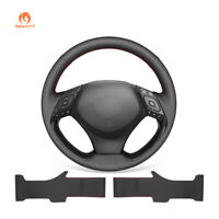 Hand sew Artificial Leather Steering Wheel Cover for Toyota C-HR CHR 2018-2020