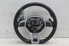 2015 MERCEDES E CLASS Multifunctional Black Leather Steering Wheel