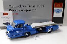 1:18 CMC Mercedes Renntransporter ´54 Das Blaue Wunder NEW bei PREMIUM-MODELCARS