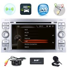 Fit Head Unit GPS Radio Sat-Nav DVD Bluetooth Stereo For Ford Transit Mk7 Galaxy