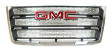 New Front Chrome Grille with Gmc Logo for 2010-2015 Gmc Terrain Oem Gm22765590