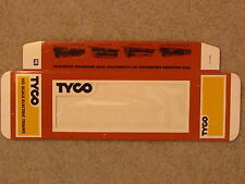 TYCO TRAIN BOX, NEW, FLAT, UNFOLDED, NEVER USED. PUT YOUR TREASURE IN A NEW BOX