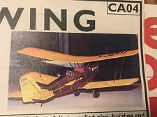"Easy Build Models Pitcairn Fleetwing Wood Model NIB 16"" wingspan Dime scale FAC"
