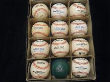 12 Rawlings brand new autographed baseballs batting practice?