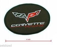 CHEVROLET VETTE RACING TEAM: CORVETTE C-5 FINE IRON-ON VETTE C-5 RACING PATCH