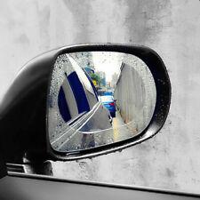 FERRARI CAR SIDE MIRRORS WATER REPEL /& ANTI-FOG//FROST FILM ROUND//OVAL