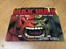 Hulk Complete Collection Books Marvel 2 volumes Full Run Loeb Red Hulk Green