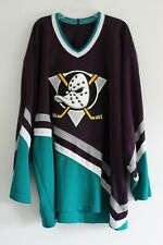 Anaheim Mighty Ducks Jersey 90's Vintage Blank by CCM