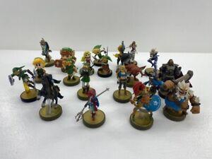 Legend of Zelda 20 Amiibo Lot Link Zelda Ganondorf Daruk Urbosa Revali & More