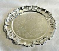 WMF Kuchenteller, Wurstplatte, o.ä. 31,5 mm Ø - Silber-plated, wie neu (Erh.1)