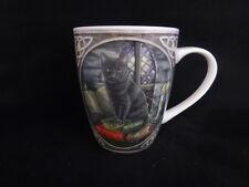 Black Cat Bone China Mug designed Lisa Parker Pagan Wicca Comes In A Lovely Box