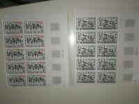 timbres  EUROPA andorre 1981 neuf xx bloc de 10 cote 45 euros 292 et 293 coin