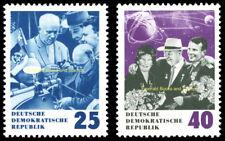 EBS East Germany DDR 1964 Khrushchev's 70th Birthday Michel 1020-1021 MNH**